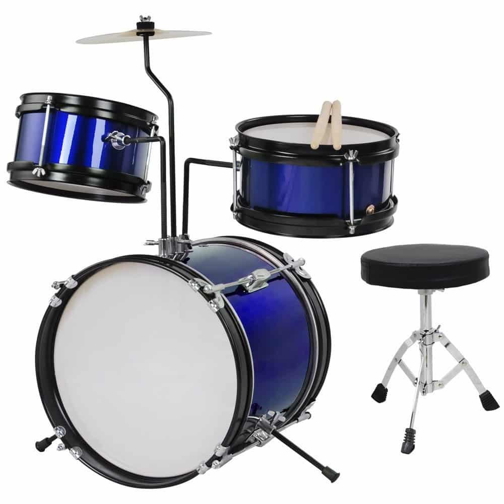 AW 3pcs Junior Kid Child Drum Set Kit